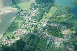 Luftbild Menz, Fotoarchiv Reimund Alheit