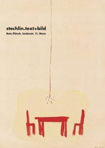 ´Logo stechlin.text+bild´ aus Bildarchiv R.Flütsch